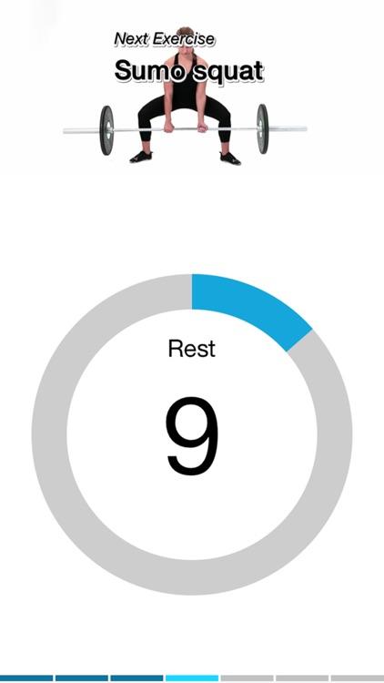 Virtual Trainer Barbell screenshot-3