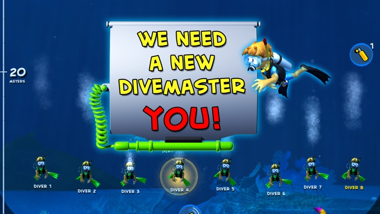 Divemaster - the Scuba Diver Photo Expedition Adventure game with sharks and dolphins screenshot-4