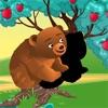 アクティブ! 子供のためのシャドウゲームは学び、森の動物と遊ぶ