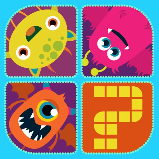 A Little Monsters 4 Pics 1 Word Puzzle Game - Full Version
