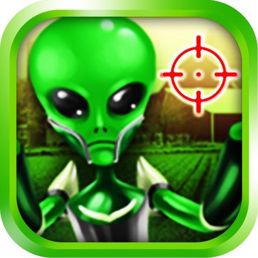 Alien Farm Attack Sniper Game FREE