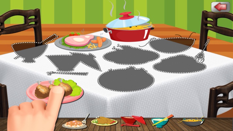 A Food Puzzle For Preschoolers screenshot-4