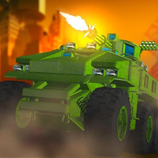 Army Tank Frontline Militia Battle: Metal Arms Trooper Conflict iOS App