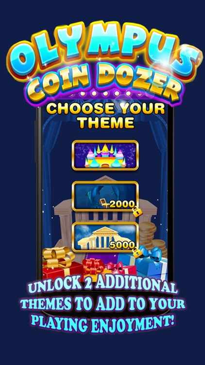 Gods of Olympus Kingdom Gold Coin Dozer Quest by Game Wizard llc