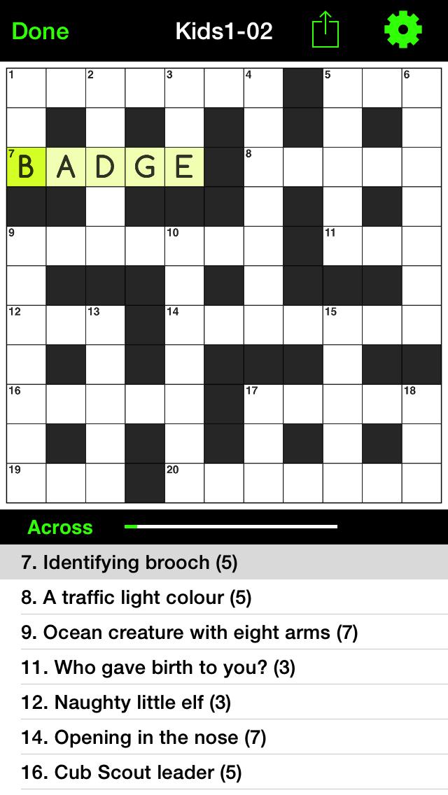 Crosswords for Kids 1のおすすめ画像3