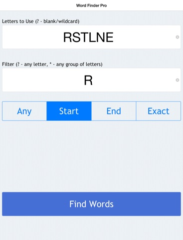 the word finder