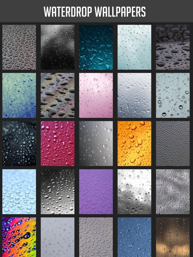 Waterdrop Wallpapers Su App Store