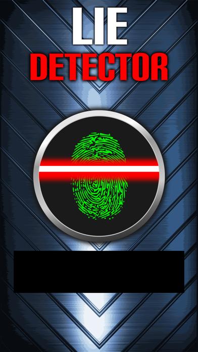 Lie Detector Fingerprint Truth or Lying Scanner Touch Test HD + screenshot one