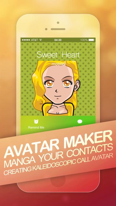 Avatar Maker - Manga Your Contactsのおすすめ画像3