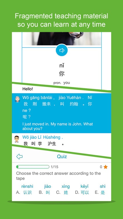 Learn Chinese/Mandarin-Hello Daily II