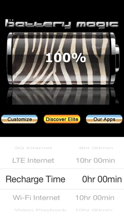 Battery Magic: Battery Life Battery Stats Battery Charge & Saver all in one! screenshot-0