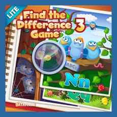 Activities of Find the Difference Game 3 Lite: ABCs