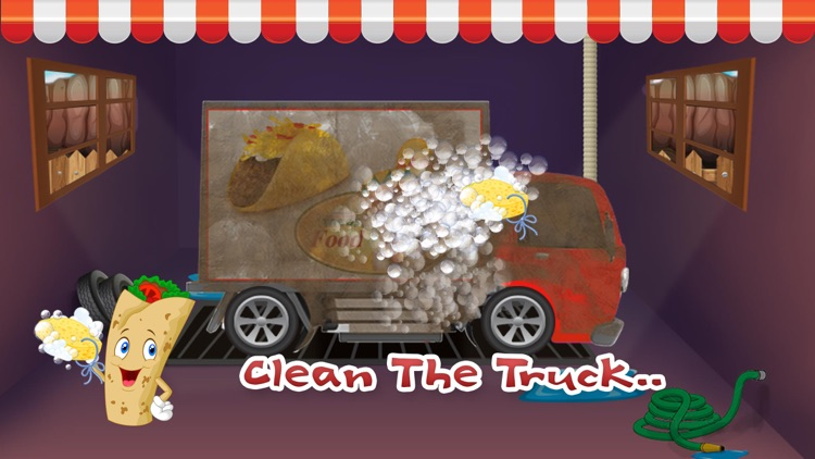 Taco Truck Wash - Dirty auto car washing, cleaning & cleanup adventure game screenshot-3
