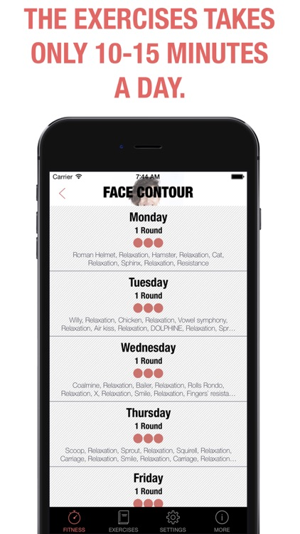 Face Fitness - exercises for your beauty & rejuvenation PRO screenshot-3