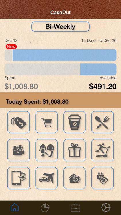 CashOut - Expense Budget and Cash Management for Personal and Family