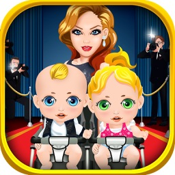 Mommy's Celebrity New Born Twins Doctor - newborn babies salon games!