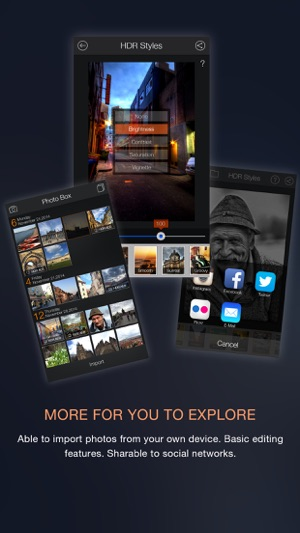 Fotor HDR – HDR Camera & High Resolution Images Creator Screenshot