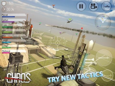 CHAOS Боевые вертолеты HD - #1 Многопользовательский симулятор вертолетов 3D на iPad