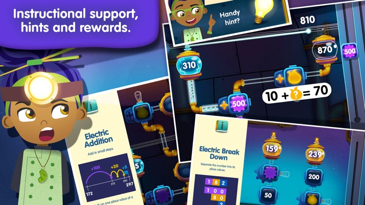 Electric Sums - Lumio Addition & Subtraction screenshot-4