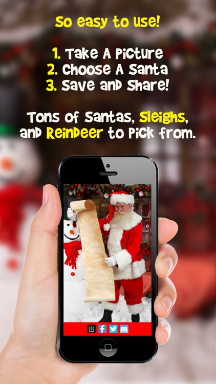 Snap Santa Editor Booth 2014 - Easily Create Fun Photo Proof Father Christmas is Real! screenshot-4