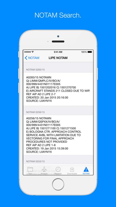 AIP Italia - Italian AIP manual screenshot four