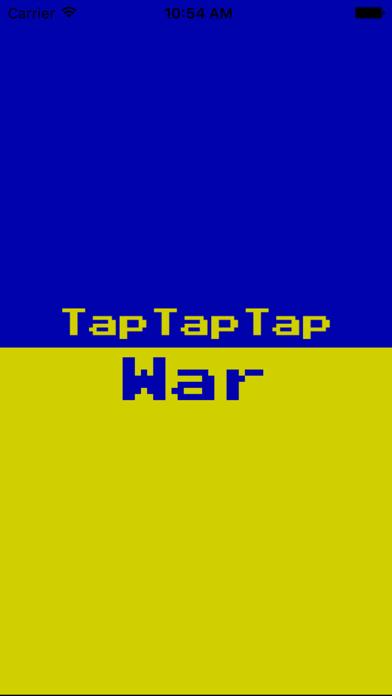 TapTapTapWar - Toque para ganar! Juego divertido de jugar con los amigos. 2 jugadores del juego!Captura de pantalla de1