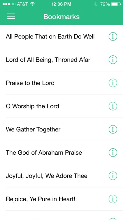 Hymnal SDA - Complete Hymns for iPhone, iPod, iPad screenshot-4