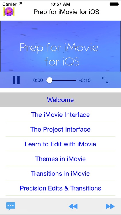 Prep for iMovie for iOS screenshot-0