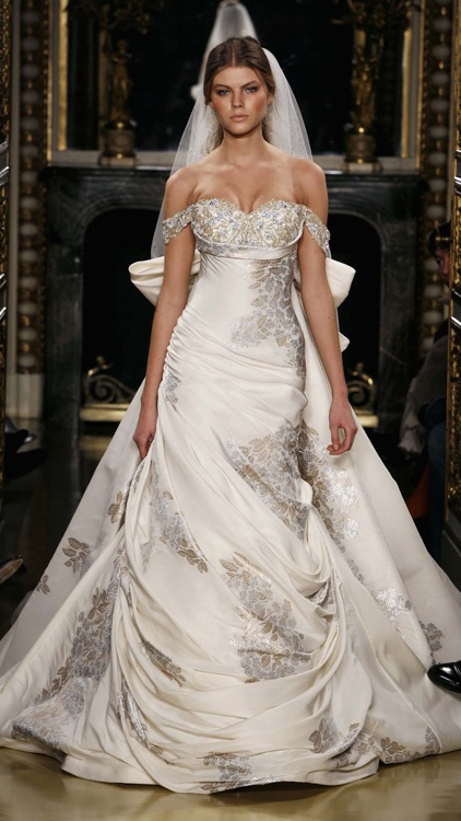 Wedding Dresses 2015 Advance Collection: Ideas & Trends, Fashion & Accessories screenshot-2