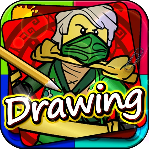 Drawing Desk Draw And Paint Games On Coloring Book Edition Lego Ninjago Version Apps 148apps