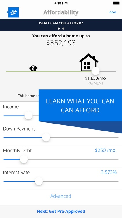 Zillow Mortgages - Calculator & Home Loan Rates screenshot-1
