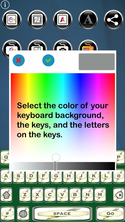 Je Suis Free Custom Keyboard screenshot-0