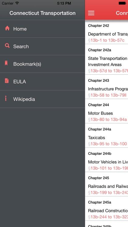 Connecticut Transportation screenshot-4