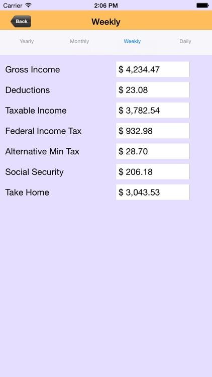 US TAX Calculator screenshot-3