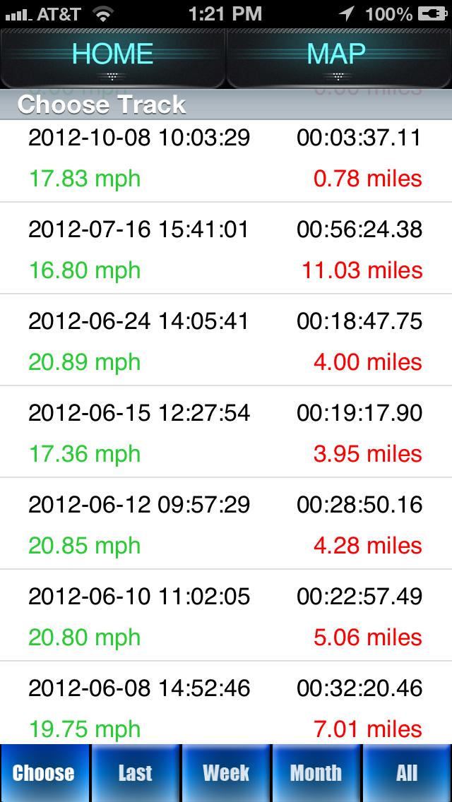 Renn-Tracker - GPS Fitness-Tracker für SpurterScreenshot von 4