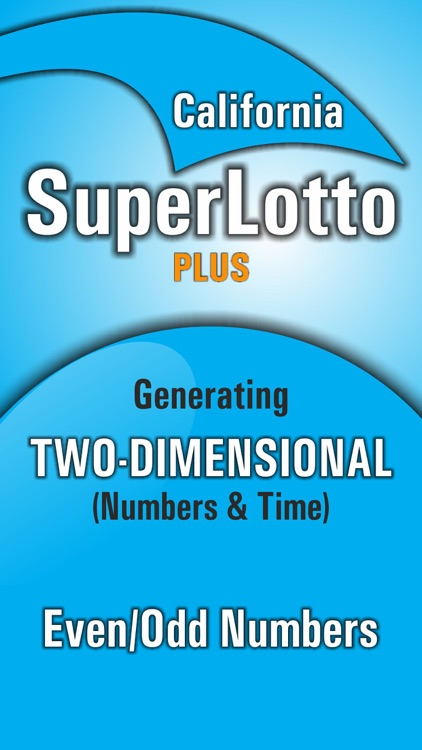 Lotto Winner for California SuperLotto