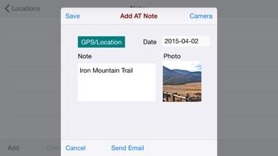 Appalachian-Trail Notebook screenshot four