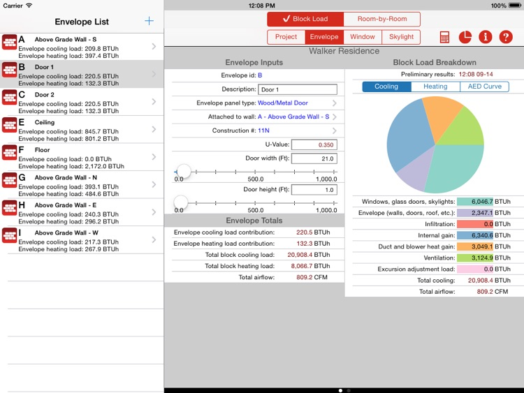 Residential HVAC Load-J Calculator screenshot-3