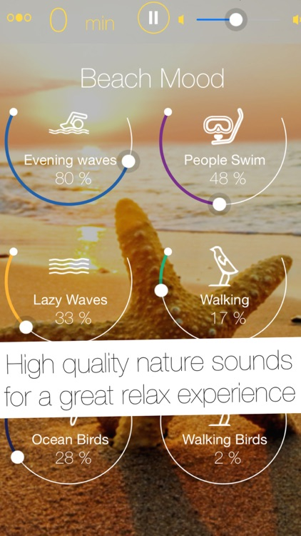 Relax App - Thunderstorm, Beach, Forest & Rain Nature Sounds for Sleep or Power Nap