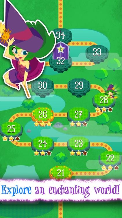 Magic Cats Journey - Arcade Match-3 Game