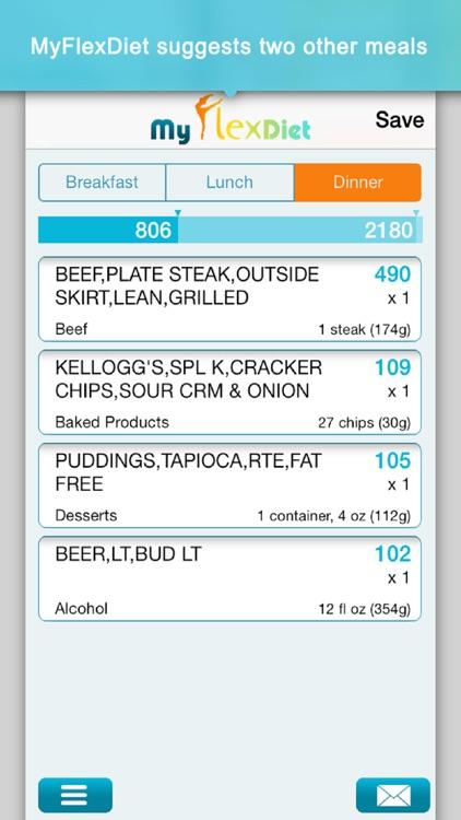 Diet Plan & Food Tracker for Quick Weight Loss screenshot-3