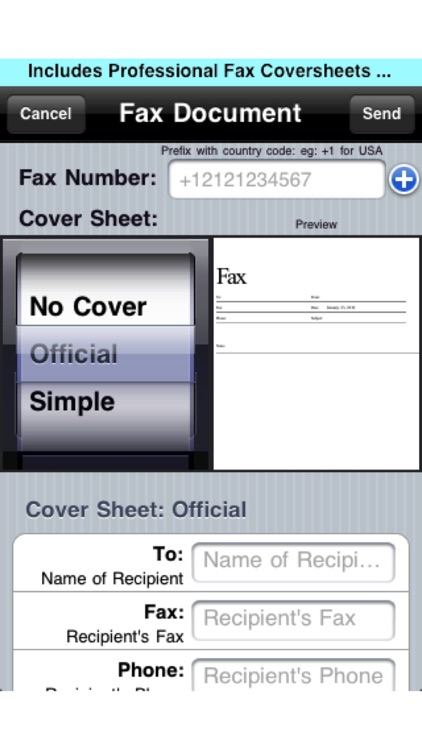 Faxing for iPhone screenshot-3