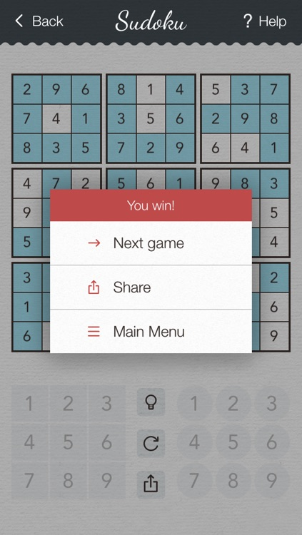 Sudoku 2 - japanese logic puzzle game with board of number squares screenshot-4