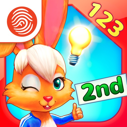 Wonder Bunny Math Race: 2nd Grade - A Fingerprint Network App
