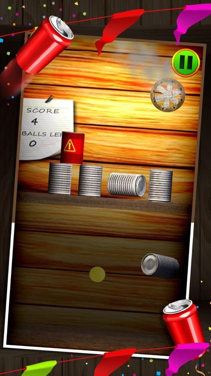 Carnival Can Knockdown 3D - Ball Toss Smash Game screenshot-4