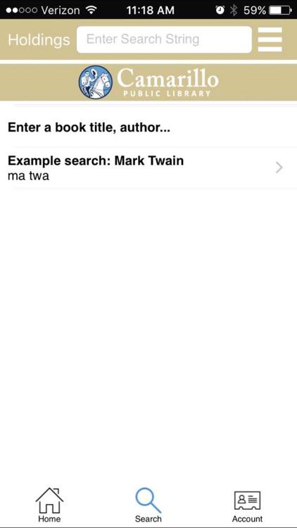 Camarillo Public Library App screenshot-3