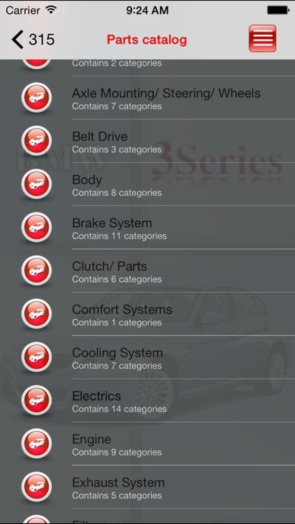 AutoParts BMW 3-series
