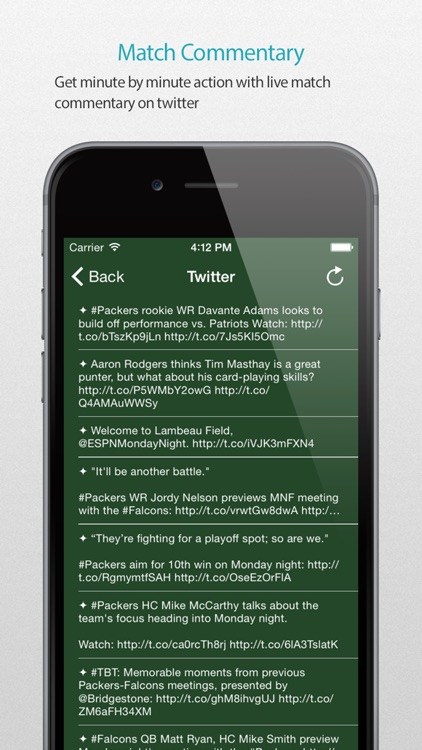 Green Bay Football Alarm Pro screenshot-4