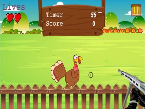 screenshot 2 for thanksgiving turkey hunt blast fun virtual shooting game