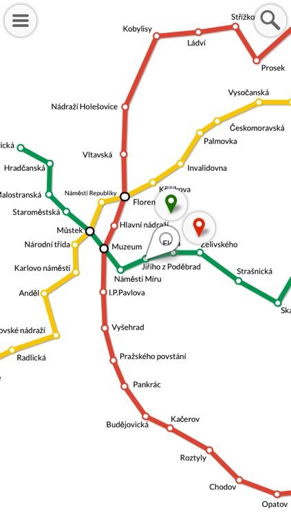 METRO : Prague